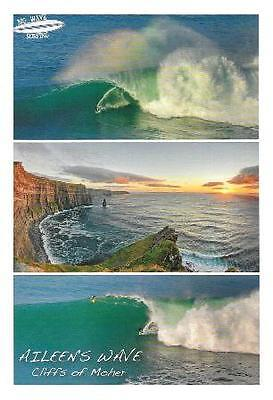 Postcard multiview Cliffs of Moher Co. Clare Ireland