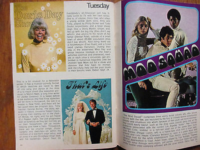Sept-1968 FALL PREVIEW TV Guide(THE  MOD  SQUAD/HAWAII FIVE-O/LAND OF THE GIANTS