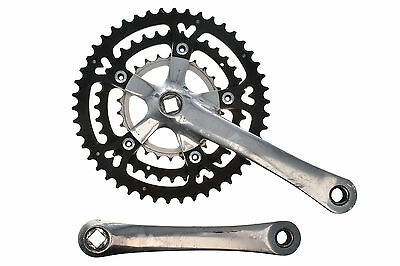 Vintage Shimano XTR FC-M900 Mountain Bike Crank Set 46/36/26T 175mm 110/74BCD