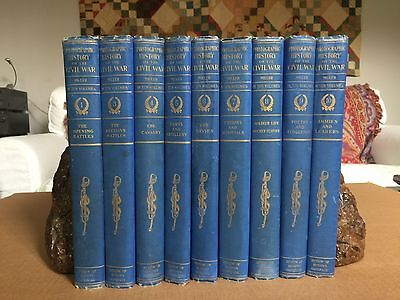 Orig 1911 PHOTOGRAPHIC HISTORY of the CIVIL WAR 9 of 10 Volumes, Miller