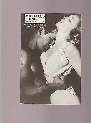 Michael's Thing-  March 1992 - Gay Articles  --Gay Bar Guide- Magazine-