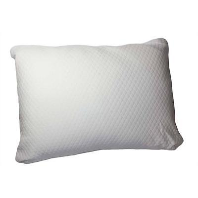 Ruya 0761 Luxe White Memory Foam Firm Support Bed Pillow Bedding Standard BHFO