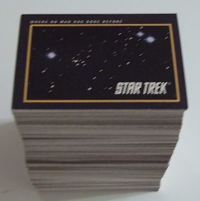 Complete Set (310) 1991 Impel STAR TREK 25th Anniversary CARD SET Series 1 & 2