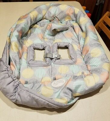 Comfort & Harmony~ Baby Shopping Cart Cover/High Chair Cover ~Multi-color,Unisex