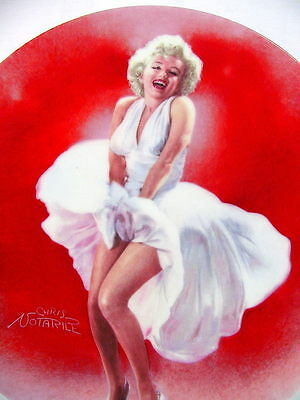 MARILYN MONROE  The SEVEN YEAR ITCH~~ Limited Edition Delphi Collector Plate~COA