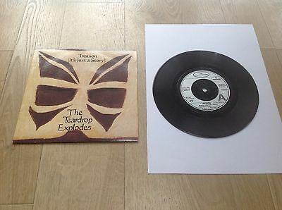"The Teardrop Explodes Treason (It's Just A Story) 7"" Picture Sleeve Single"