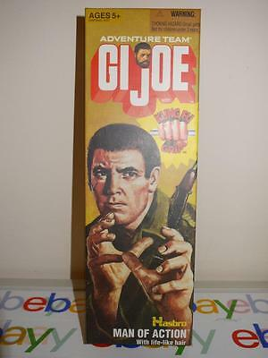 GI Joe Adventure Team Reissue Man Of Action With Gripping Hands Flocked Hair
