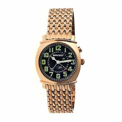 Breed Breed Ray Mens Watch, Rose Gold BRD6506