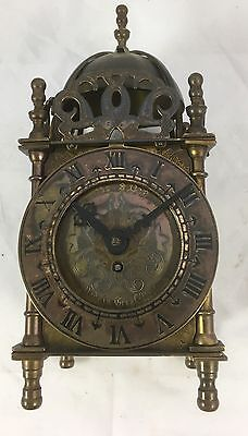 Brass Smiths Brass  Lantern Clock Mechanical Movement