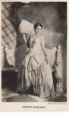 NORMA SHEARER 1930s Photo Postcard