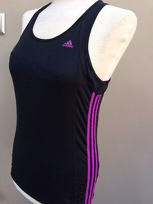 Women's Adidas Climalite Sports/Gym/running/yoga Stretch Vest Size 14