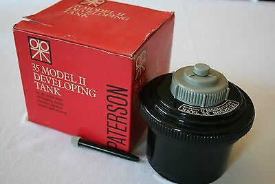 Vintage Paterson 35Mm Film Model Ii Developing Tank