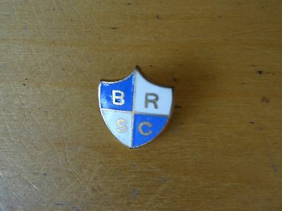Bristol Rovers Supporters Club Enamel Badge