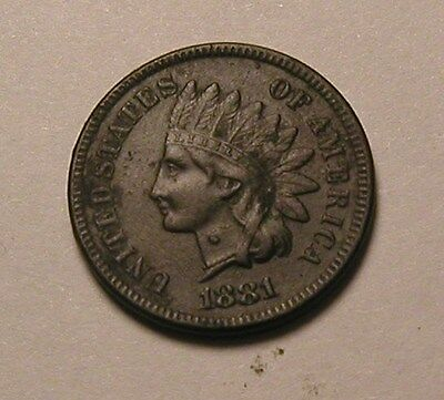 1881 Indian Head Cent,strong Liberty,nice Coin!!!(R)