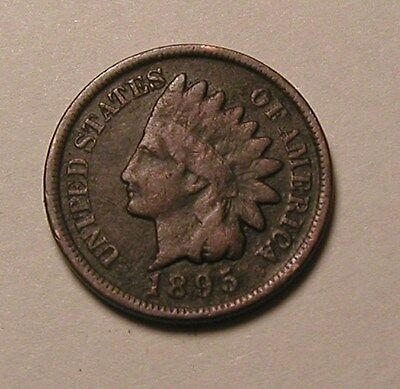 1895 Indian Head Cent,partial Liberty,nice Coin!!!(R)