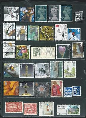 Great Britain  lot 6 nice used Decimal commemorative stamps + mint pre-dec [698]