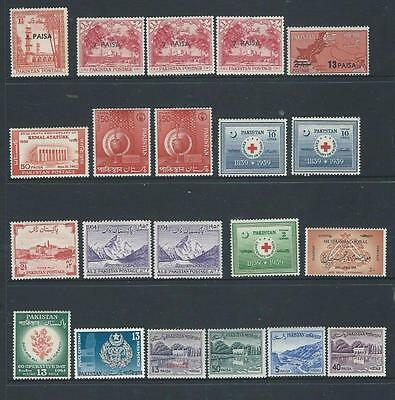 Pakistan selection of MNH  stamps some duplicates good range of issues {684]