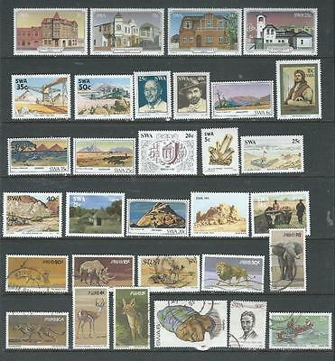 South West Africa nice selection of stamps good range of issues M/U {686)