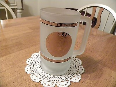 UNITED STATES ARMY  ~ Frosted Beer Stein ~ Be All You Can Be