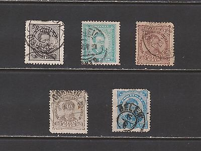 Portugal- Lot 2897, Old Used. Sc# 58-61.