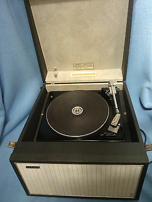 Vintage Hacker GP42 Gondolier Vinyl Record Player with Garrard SP25 Deck.