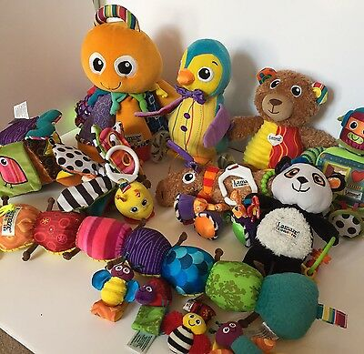 Lamaze Bundle Collection Of 13 Sensory Toys Baby Toddler Octotunes