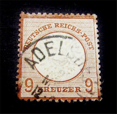 nystamps Germany Stamp # 25 Used $400