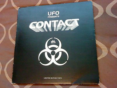 """Ufo Presents Contact Lp [Ray Keith] 5 X 12"""" Drum & Bass Album Lp Limited Edition"""