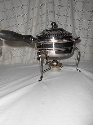 Sheffield England reproduction of Viners silver chaffing dish Nice!