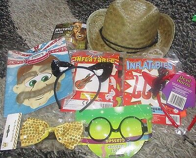 Hat Glasses Ears Teeth Horns Inflatable Mic Guitar  Party Wedding Photo Props