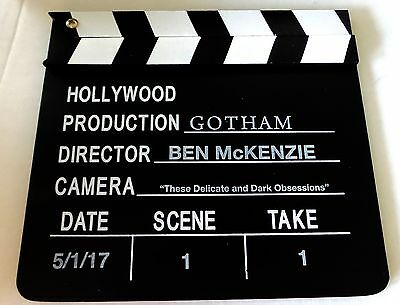 Gotham Promo Promotional Movie Clapperboard Slate Board Clapper Prop Batman
