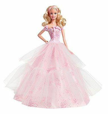 Happy Birthday Wishes Barbie Doll 2016 Collector Pink Label New