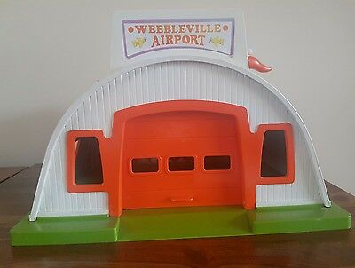 Vintage 1970's Airfix Weeble Airport