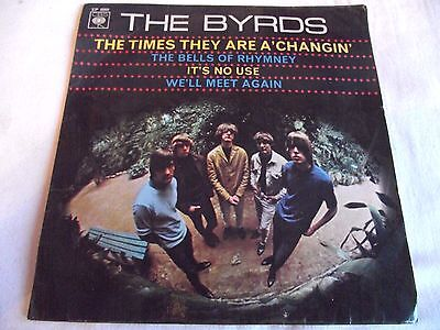 The Byrds ~ The Times They Are A'changin' ** 1966 Cbs Ep