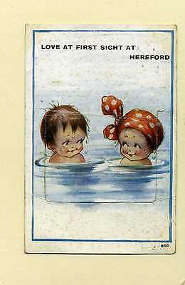 Love At First Sight At Hereford. Humour. Novelty. Bathing.