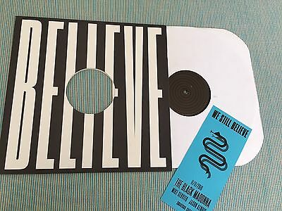 """The Black Madonna We Still Believe Rare Stamped Etched - Vinyl (12"""") With Promo"""