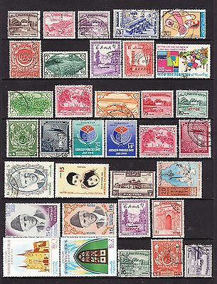 A Selection of Pakistan Stamps (m59-162)
