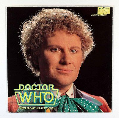 "Peter Howell BBC Radiophonic  Workshop - Doctor Who Theme (UK 7"" Pic Sleeve) Ex"
