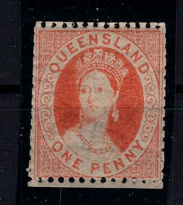 P22848/ Queensland / Australia / Scott # 18B Neuf * / Mint Mh 166 €