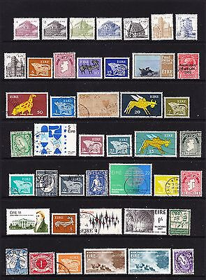 A Selection of Ireland Stamps (m62-40)