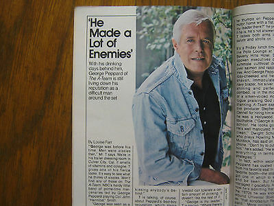 1985 TV Guide (THE  A-TEAM/GEORGE  PEPPARD/MICHAEL  ZASLOW/MR. T/TAYLOR  MILLER)