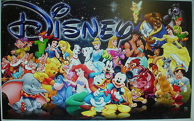 Thousands Of Disney Cartoon Character Machine Embroidery Designs on Cd