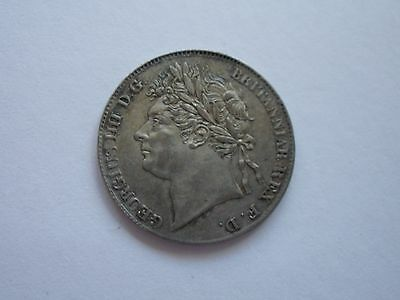 1830 George Iv Maundy Fourpence - Ef - Uk Post Free
