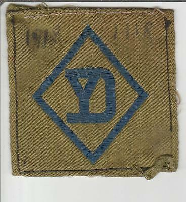 WW 1 US Army 26th Division Liberty Loan Patch Inv# S114