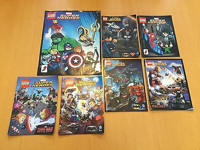 LEGO 'Super Heroes' Collection of 7 comics -New