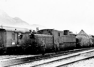 WW1 Austrian Armoured Train First World War Photograph