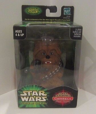 Star Wars POTJ Palm Talkers Chewbacca Super Deformed Japan Hasbro 2001 New