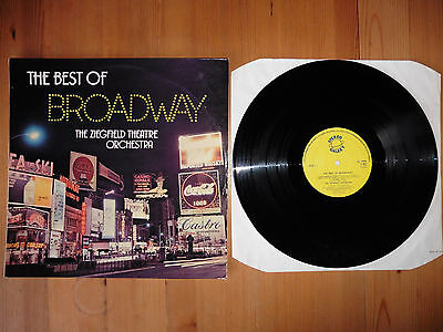 The Ziegfield Theatre Orchestra    The Best Of Broadway    LP