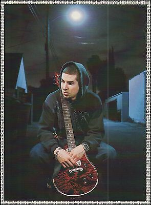 Brad Delson Linkin Park PRS Custom 24 guitar 8 x 11 pin-up photo print