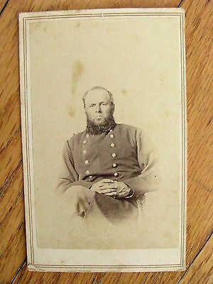 Sand Creek Massacre Colonel John Chivington Civil War Era Cdv Photo